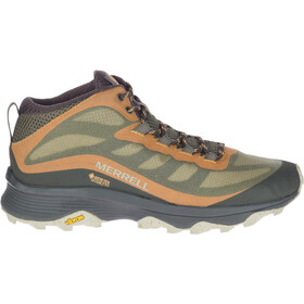 Merrell Moab Speed Mid GTX Shoes Men lichen